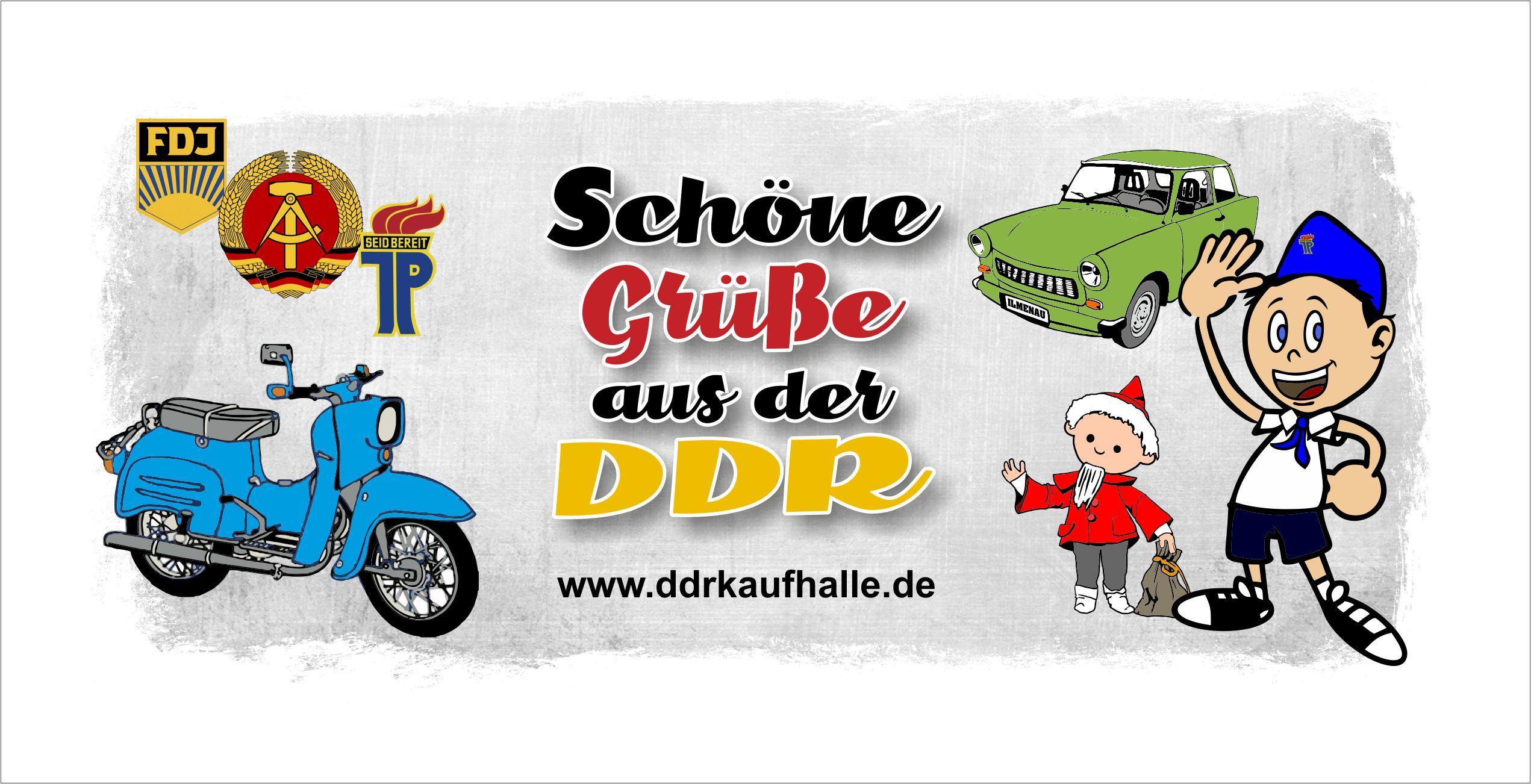 Start - DDR Kaufhalle